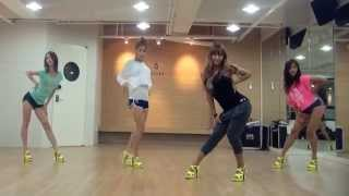 SISTAR - Loving U mirrored Dance Practice