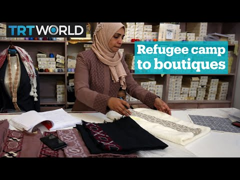 From Palestinian refugee camps to luxury boutiques