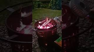 야외 바베큐 화력올리는법
