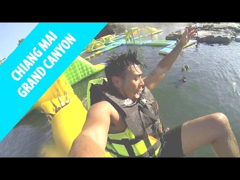 CHIANG MAI GRAND CANYON - Cliff Jumping and Waterpark