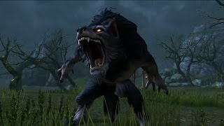 Elder Scrolls Online: Werewolf Gameplay (Free Bite to become werewolf)