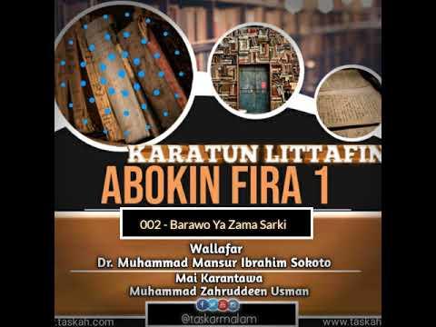 002. Barawao Ya Zama Sarki -- Littafin Abokin Fira 1