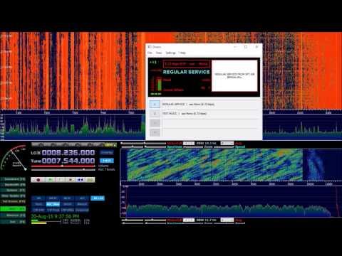 DRM ShortWave All India Radio from Bengaluru in Craiova RO
