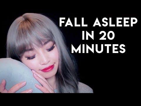 [ASMR] Fall Asleep In 20 Minutes (Sleep Triggers)