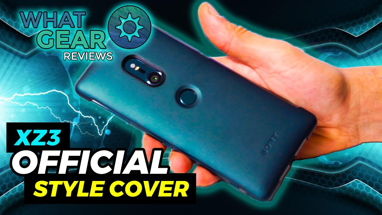hot sale online 95b37 0b9fc Sony Xperia XZ3 style cover touch - MobileFun.co.uk