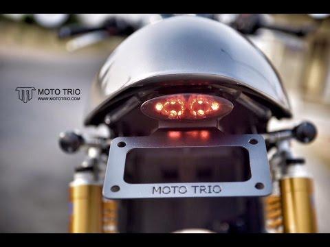 Fender Eliminator Kit For Thruxton R By Moto Trio Youtube