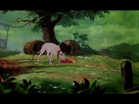 Мультфильм лиса и пес