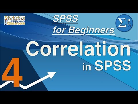 04 SPSS for Beginners - Correlation
