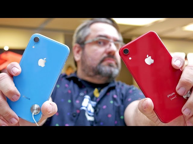 AS CORES DO IPHONE XR! (HANDS ON)