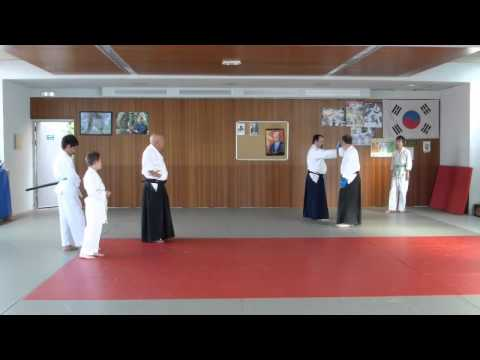 Cours d'Aïkido au au A.I.L Endoume Catalans