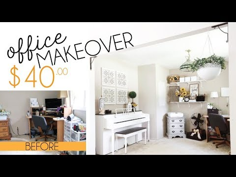 Clean With Me | Office Makeover on a BUDGET