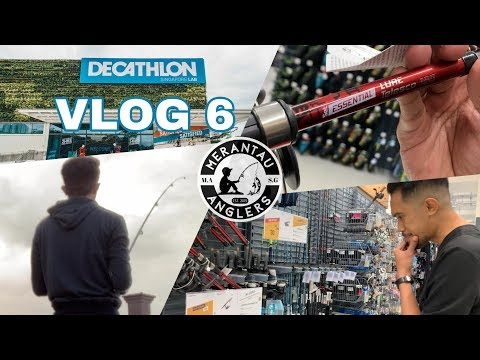 "New fishing rod from DECATHLON. ""VLOG 6"""