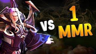 ИНВОКЕР VS 1 ММР В ДОТА 2 - INVOKER VS 1 MMR DOTA 2