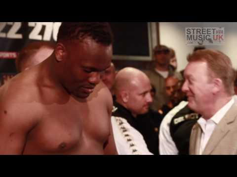 Heavy Weight Boxer Derek Chisora - Behind The Scenes Part 1