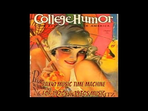 Classic 1930s Radio Music  @Pax41