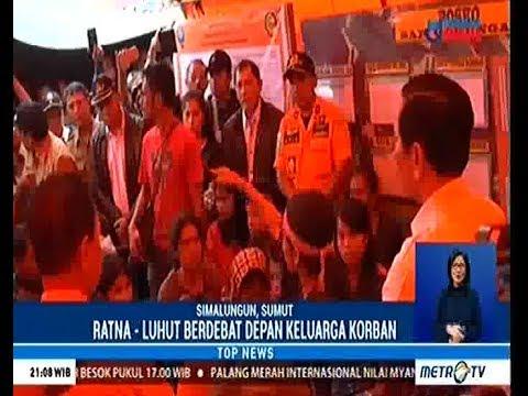 Ratna Sarumpaet diusir keluarga Korban Kapal Sinar bangun yang tenggelam di Danau Toba