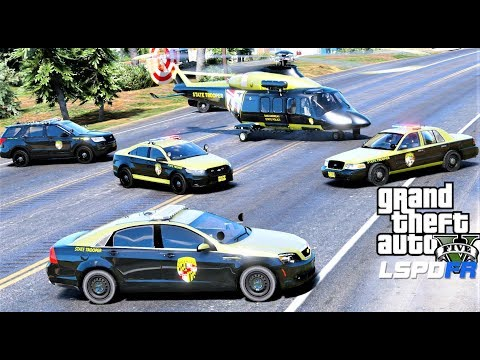 GTA 5 LSPDFR #661 Maryland State Police