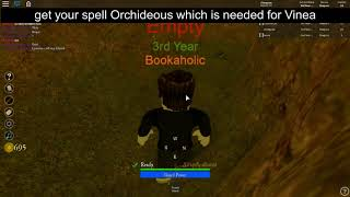 Roblox Vale School Of Magic - Wie man Floris und Vinea bekommt - Lesen Sie Beschreibung BITTE .