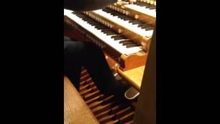 Dubois on the RAH Organ Dec 2014 Ken Bartels