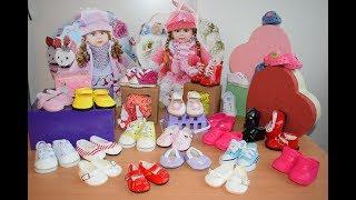 Обложка на видео о Обувь для Беби Борн купить, обувь для Реборн