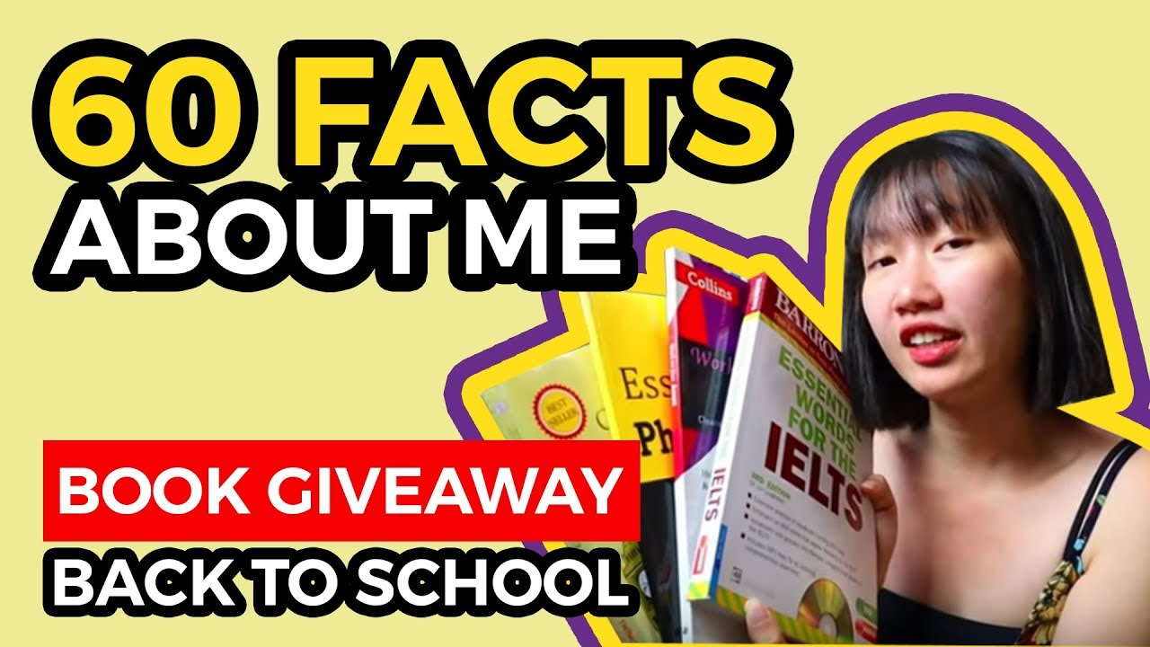 60 FACTS ABOUT ME   GIVEAWAY COMBO SÁCH KHỦNG CHO NGƯỜI CẦN GIỎI TIẾNG ANH