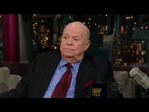 Don Rickles Letterman 2009