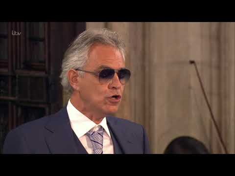 Andrea Bocelli & the Royal Philharmonic Orchestra- Panis Angelicus - Royal Wedding - 12th Oct 2018