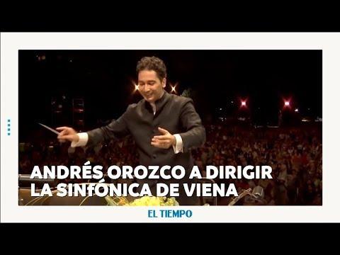 Andrés Orozco Estrada dirigirá la Sinfónica de Viena l EL TIEMPO l CEET