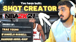 NEW PERFECT SHOT CREATOR BUILD FOR NBA 2K21! TYCENO BEST GUARD BUILD 2K21 REVEALED