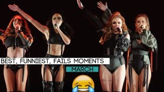 Little Mix - Best, funniest and FAIL moments on the DW Tour | March