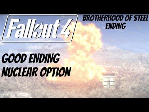 Fallout 4 - Good Ending / Brotherhood of Steel Ending (Destroy Institute)