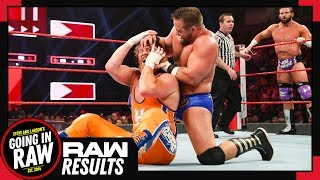 WWE Raw Review & Full Results | New Raw Tag Champions Crowned? | Going In Raw Podcast