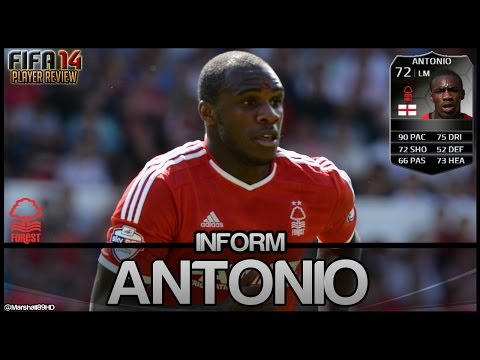 FIFA 14 UT - IF Antonio || Inform Team of the Week Ultimate Team 72 Player Review + In Game Stats