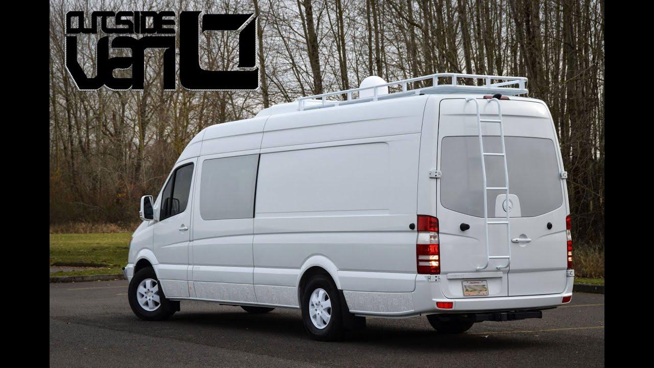 Osv whiteout 170ext 2500 mercedes benz sprinter youtube for Mercedes benz sprinter 2500 vs 3500