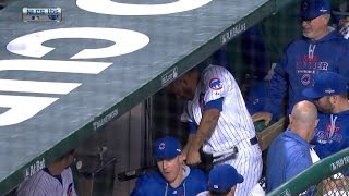 NLCS Gm3: Rondon shows his frustration in dugout