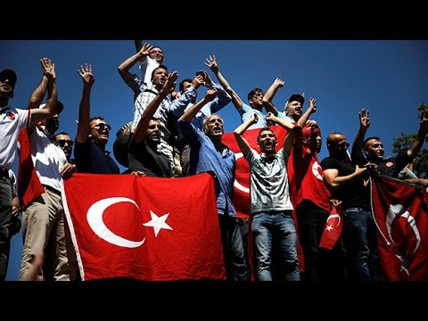 Tens of thousands fired, detained in Turkey's post-coup crackdown