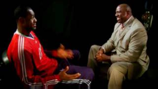 LeBron James Interview With Magic Johnson (2009) HD
