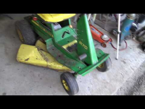 John Deere steering & mowing again