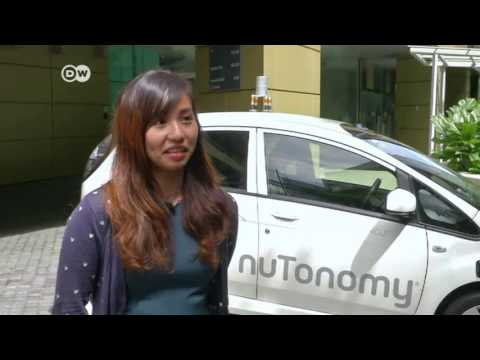Taxis sin conductor en Singapur