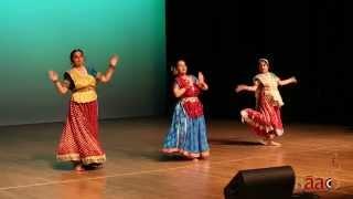 Nrityanjali ~ Tarana ~ Classical Kathak at NAAD FESTIVAL 2014