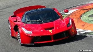 Ferrari LaFerrari FXX K Prototype Testing with EPIC Sound!!