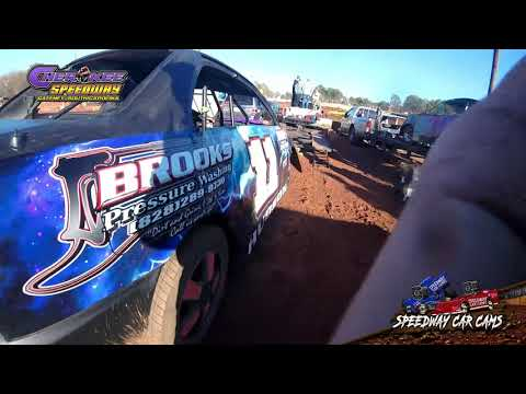 #11 Ray Hudson - FWD - 12-1-19 Cherokee Speedway - In-Car Camera