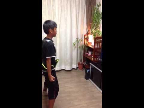 Kenji Dancing Zumba