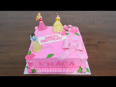Birthday Cake For Girls New 👸Princes Disney Character