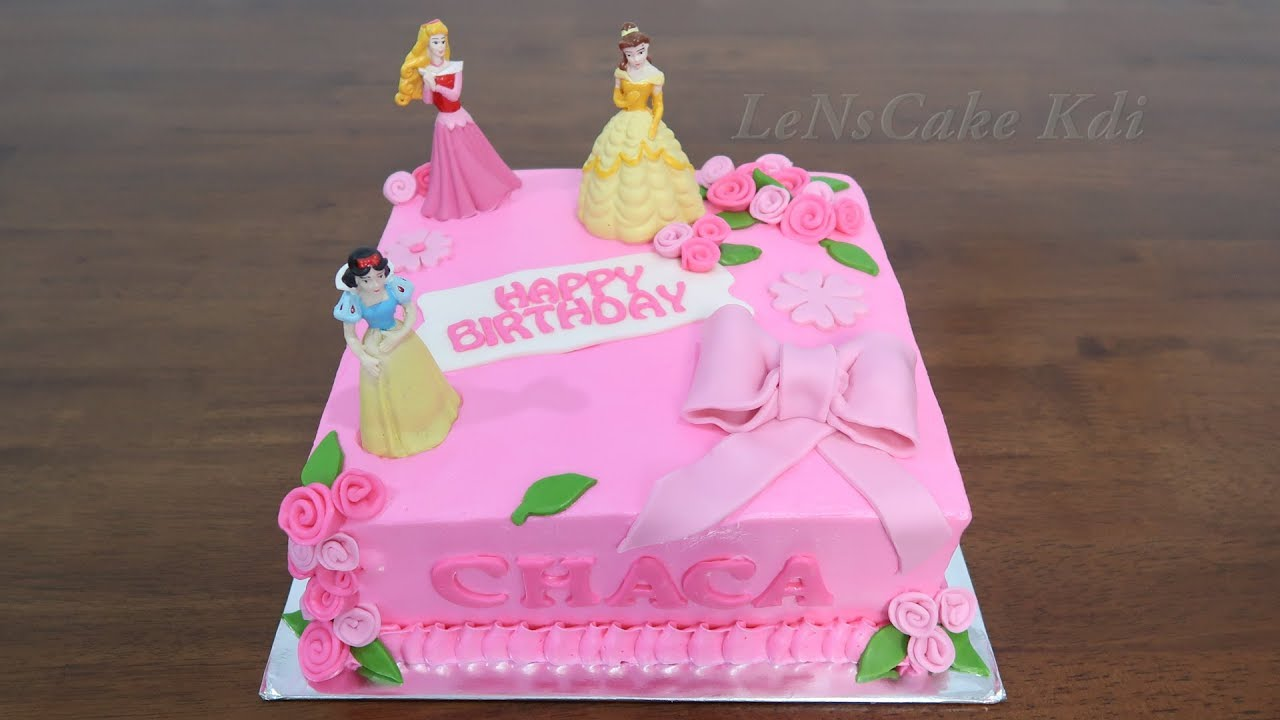 Birthday Cake For Girls New Princes Disney Character