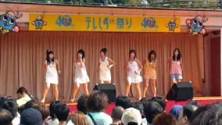 テレビ静岡にてミニライブ.