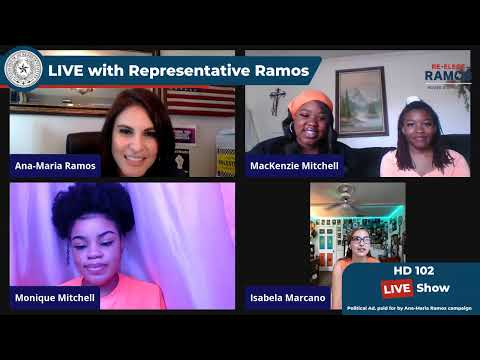 Representative Ramos in Conversation with Young Activists