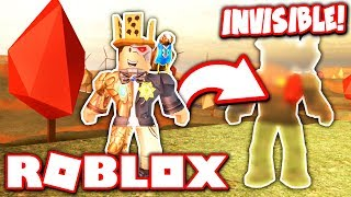 HOW TO BECOME INVISIBLE in JAILBREAK FALL UPDATE!! (Roblox)