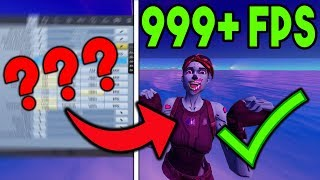 Changing THESE SETTINGS Will Fix FPS in Chapter 2! (FPS BOOST GLITCH FORTNITE)