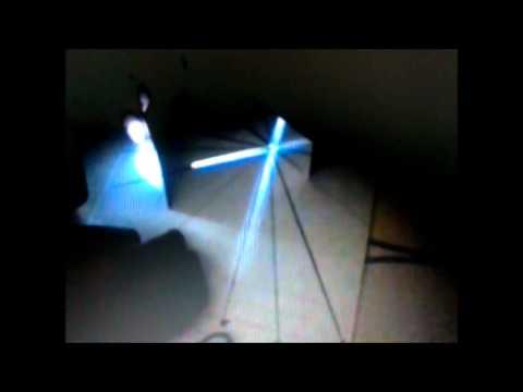 Reflexion de la luz en un espejo plano con laser youtube - Espejos con luz ...